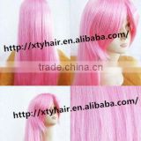 alibaba express wholesale synthetic party wig colorful cartoon wig color cosplay hair wig