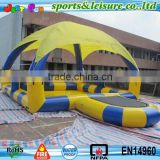 cheap inflatable pool with tent cover hamster ball pool
