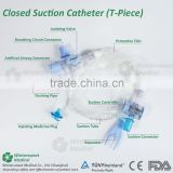 Disposable Medical grade Closed Suction Catheter CE/ISO