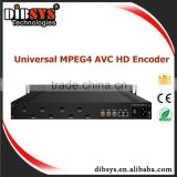 dvb encoder for cable tv system with 8 channels hd mi input Digital tv headend equipment