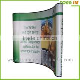 Backdrop Pop up Stands Display ,With Fabric Graphics Stands Display