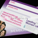 High quality new design plastic privileges cards zf