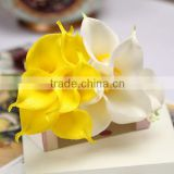 High quality PU material yellow Calla lily Bulbs