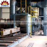 Hot rolled mild steel structural H beam supplier from China.h beam price.steel h beam shot blasting machine