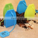 TD-070-Butler in the Home Tea Butler Silicone Tea Bag Infuser 4 Pack of Tea Infusers Strainer Loose Herbal Tea Leaf Filter