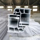 sliding series plastic profiles, extrusion pvc profile, plastic co-extruded profiles for windows and doors