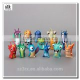 Mini plastic animal collectible action figure custom make website, own design figurine custom develop manufacturers