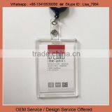 ID card holder acrylic card holder for employee