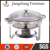 Round Hydraulic Copper Chafing Dish JC-CL14