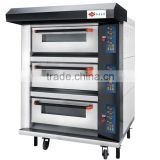 3-Deck 6-Tray Luxurious Oven, Pizza Oven, Bakery Equipment (CE)                                                                         Quality Choice