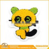 Customized chenille embroidery patch towel embroidery badge chenille patch custom with personalized design