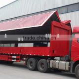 cheaper 40tons 3axle wign van trailer / foton wing van truck/transport vehicle for hot sale
