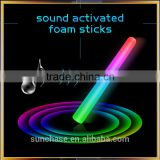 China Original Manufacturer sound activated Led light foam stick baton for playing and cheering