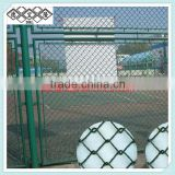 PVC Coated chain link fence for sport ground