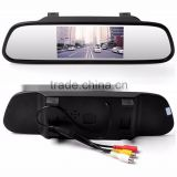 "Popular 4.3"" LCD Screen Display auto dimming rearview mirror"