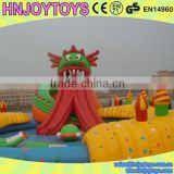 Outdoor inflatable floating water park, inflatable aqua park, giant inflatable water park