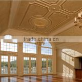 High class manor & villa internal designs natural marble corner ceiling moulding