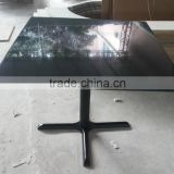hot sales customize black acrylic solid surface Coffee Table,artificial stone restaurant dinning Table,KFC Table