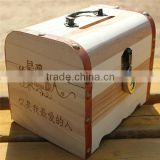 classical wooden coin box wooden packaging wholesale