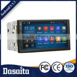 7 Inch 4x50W Car gps multimedia navigator dvd price for universal