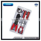 7pcs Multi Hand Tool Kit Set With Wire Stripper, Testing Pen