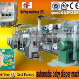CE certification baby diaper making machine