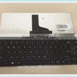 Laptop keyboard for Toshiba Satellite C800 C800D M805 M800 L800 L830 L805 Notebook keyboard white with frame