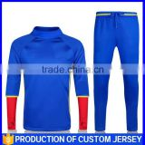 2016 National Team training jacket custom sublimation soccer uniforms professional football blazer suits boy