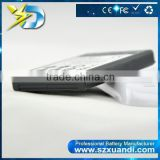 Black White high capacity 6200mAh Extended Battery with Back Cover For S4 mini/I9190