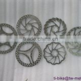 factory price titanium disc brake with 16-18cm custom ti XACD bicycle parts/components cheap OEM disc brake in china
