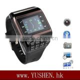 Q7/EG200+ quadband compass 2MP camera wrist watch phone