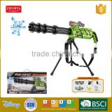 Electric water bullet gun funny action gun for children safe plastic water bullet gun toy