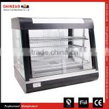 Heated Display Cabinet Pie Warmer Hot Food Showcase Fried Chicken Food Display Warmer