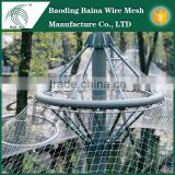 Nets for bird control in grain stores/silage pits and bale yards/aviary enclosures and garden and fish pond nets