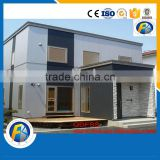 Quick Installation steel structure villa modular home luxury