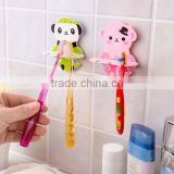 wholesale 2016 new design plastic cartoon toothbrush holder suction cup toothbrush holder