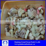 frozen mixed seafood bags