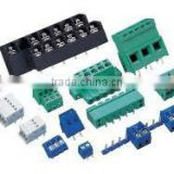 KF15V-3.50/3.81 KF15V-5.00/5.08 Terminal Block CONNECTOR TERMINAL BLOCKS POLYAMIDE 10A 12WAY