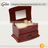 Nice -looking finish lovelyHot Selling luxury wooden mdf jewelry box glossy jewellery display box wood