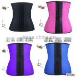 Top seller good quality cheap price wholesale Strong Hooks waist trainer corset latex waist trainer