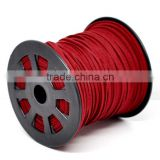High Quality Findings Red Velvet Threads And Cord for Necklace Making