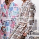 coral fleece robes for women and men