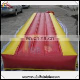 Healthy inflatable air mat, inflatable trumbling track, inflatable runway for training