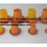 Canada Poultry Farm Orange Plastic Chicken Feeder & Chicks Feeder Tray & Small Chicks FeedingTray & Feeding Pan in Chicken Coop