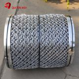 Galvanized Razor Barbed Wire Fence / Security Barbed Wire Mesh SGS Listed