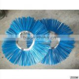 Bent Circle Snow Sweeper Brush And Road Sweeper Brush For Runway Sweeping