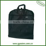 2013 factory design custom promotion cheap polyester non-woven fashionable suit cover garment bag black