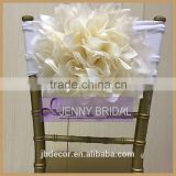 C317B wholesale cheap beautiful event chiavari flower chair covers for weeding                                                                                                         Supplier's Choice