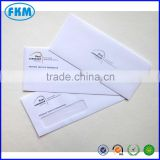 window envelope for bank