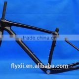 "FLX-FR-219 : Carbon Glossy Cycling 29ER Mountain Bike Frame MTB Fork : 15.5"" , 17.5"" , 19"""